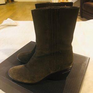 Cole Haan Women's Air Kierstin Boot Suede Size 7